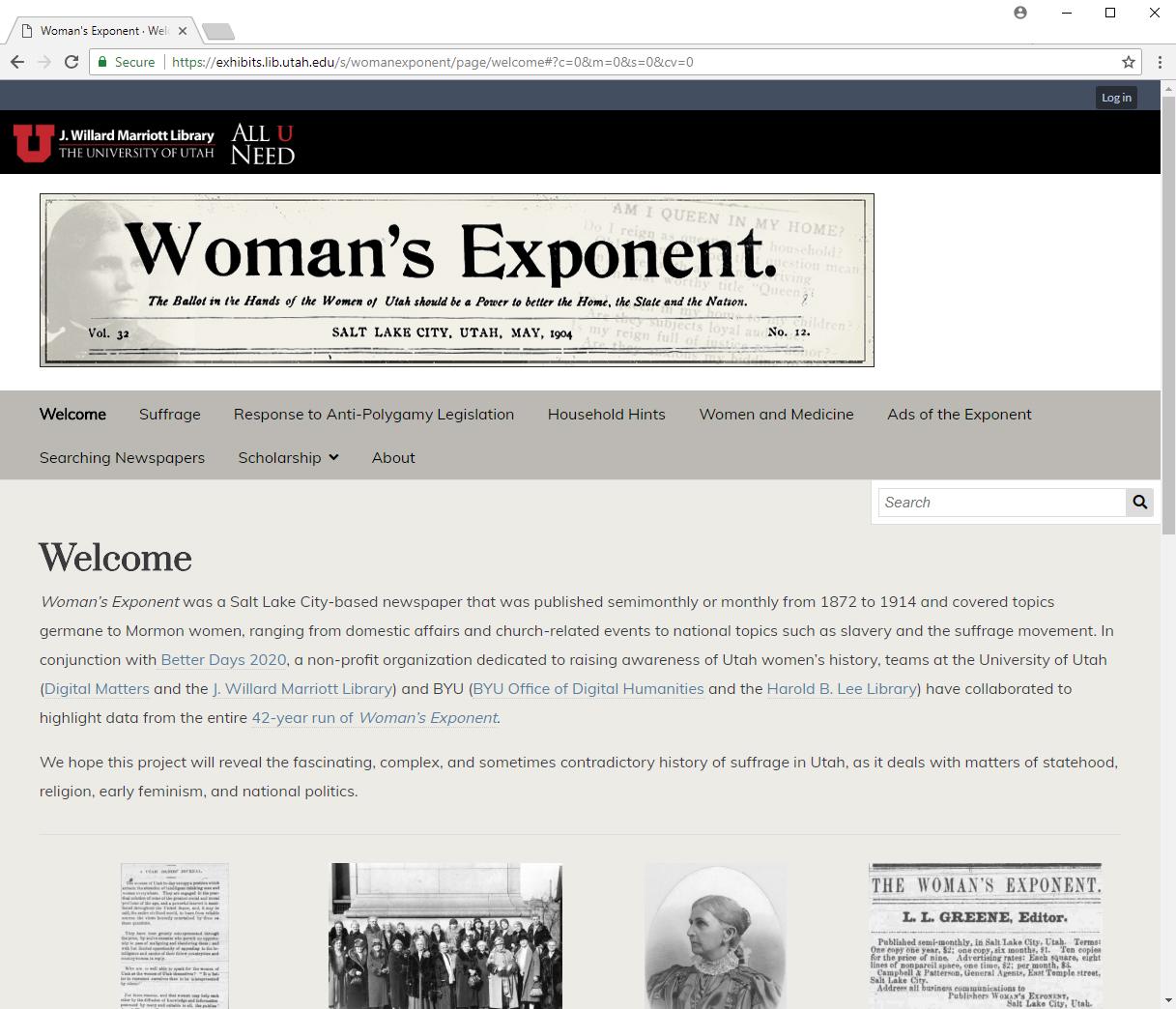 WomensExponentScreenshot