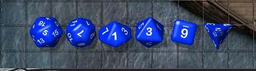(sending Marisa) virtual dice
